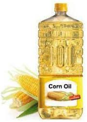 Изысканный и сырой кукурузное масло