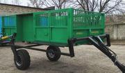 Полуприцепы  тракторные с  гидравлическим  подъемом для  свиноводства